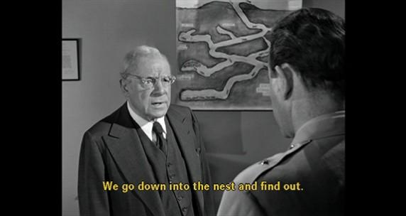 Still from Them!, directed by Gordon Douglas, 1954