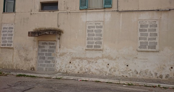 Sandra Noeth, Wounded Places, San Pio/Lecce, Italy