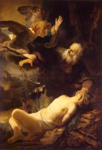 Rembrandt van Rijn, Sacrifice of Isaac, 1635